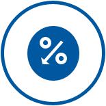 メリット2 無担保ローンと比べて低金利